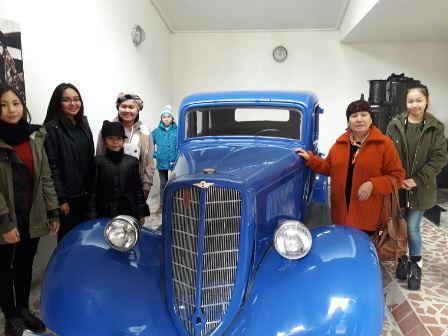 Экскурсия в музей Ж.Жабаева