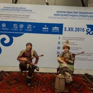 Участие в  церемонии вручения сертификатов ЮНЕСКО.