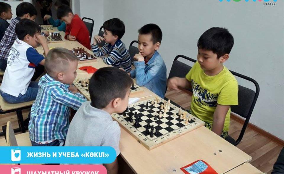 Шахматы в «Көкіл»