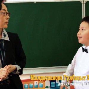 Посмотреть видео «Школа «Көкіл» — Урок логики»