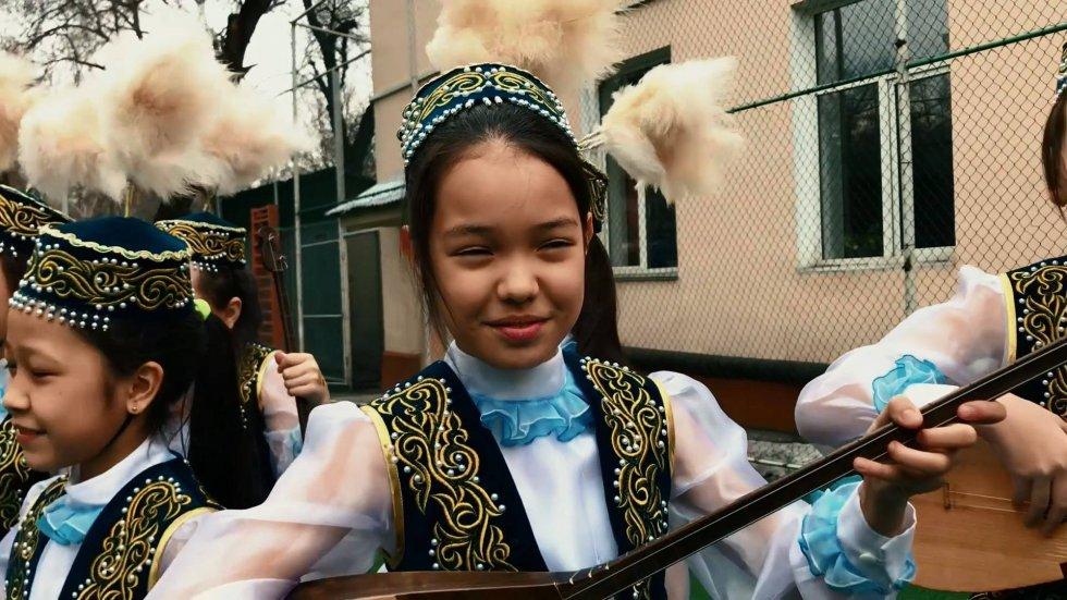 Посмотреть видео «Наурыз — один из главных традиционных праздников казахского народа»